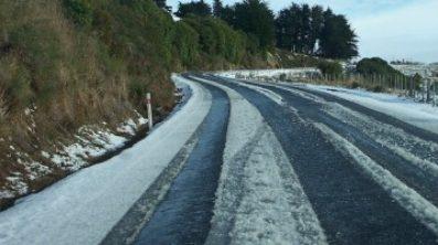 Conducción extrema en coche; hielo o nieve